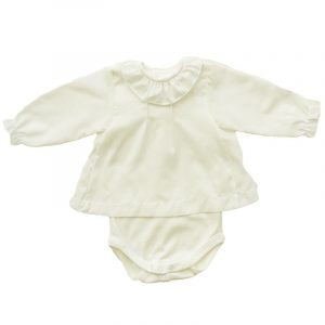 Body Camisola  Voile Crudo 18 meses