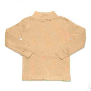 Camiseta Manga Larga Semicisne Camel 2 años