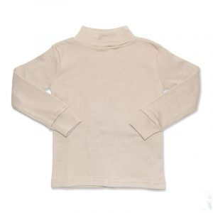 Camiseta Manga Larga Semicisne Crudo 10  años