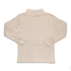 Camiseta Manga Larga Semicisne Crudo 6 años
