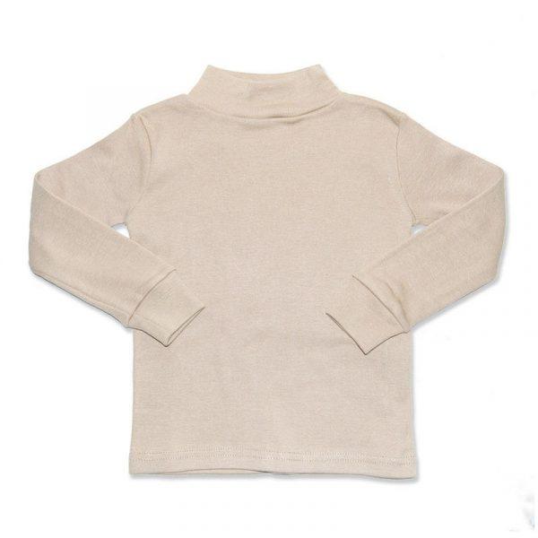Camiseta Manga Larga Semicisne Crudo 8 años