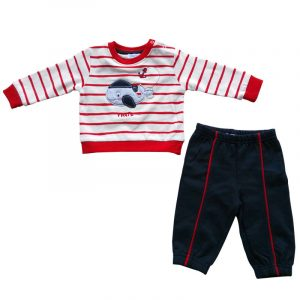 Chandal Bebe Pirate Rojo 12 meses