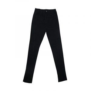 Pantalon Leggings Felpeta Montar Negro Negro 14 años