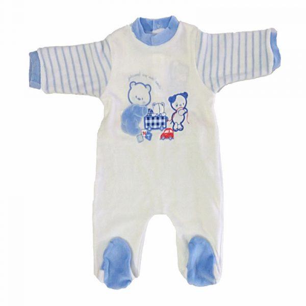 Pelele Bebe Amici Crudo 3 meses