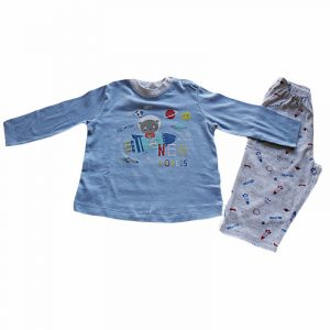 Pijama New World Azul 12 meses