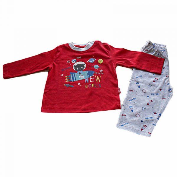 Pijama New World Rojo 24 meses