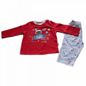 Pijama New World Rojo 6 meses